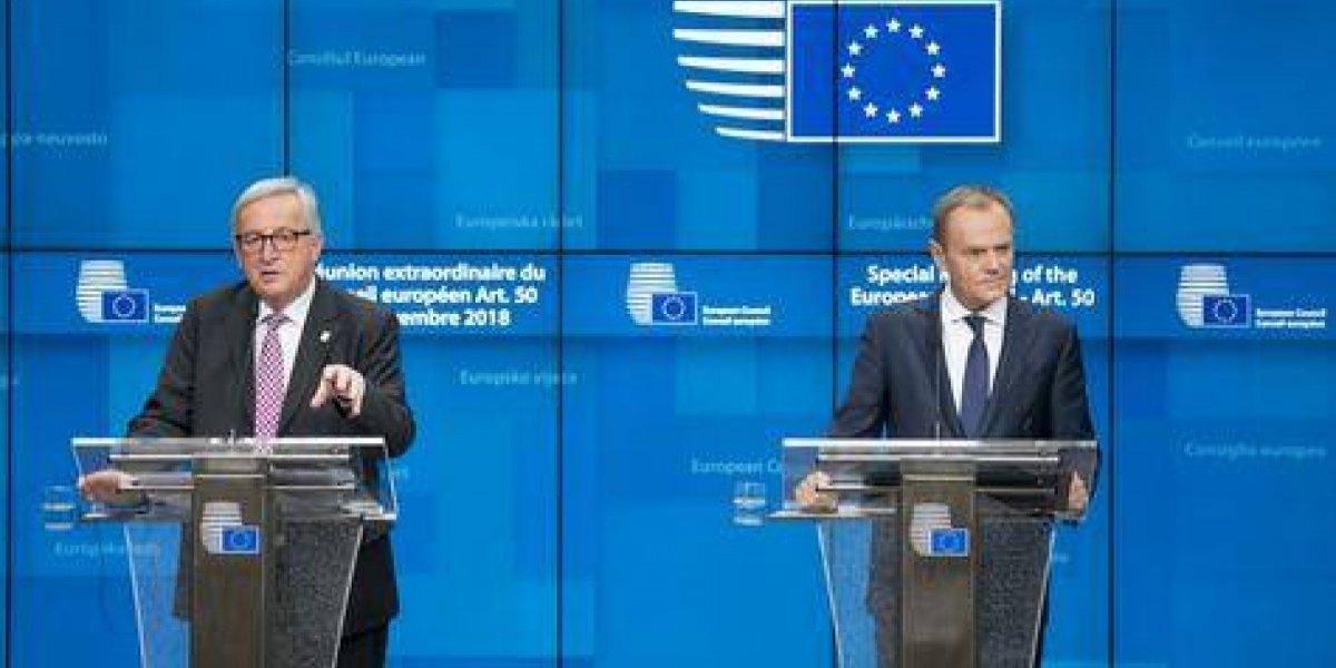 """La Unión Europea aprobó """"divorcio"""" del Reino Unido"""
