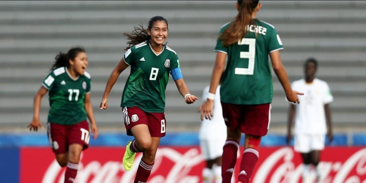 Tri femenil disputará el quinto partido en el Mundial Sub-17