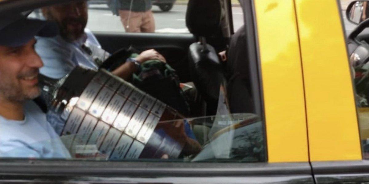 Trasladan la Copa Libertadores en taxi
