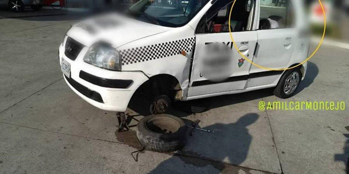 Conductores causan daños en infraestructura, uno de ellos en estado de ebriedad