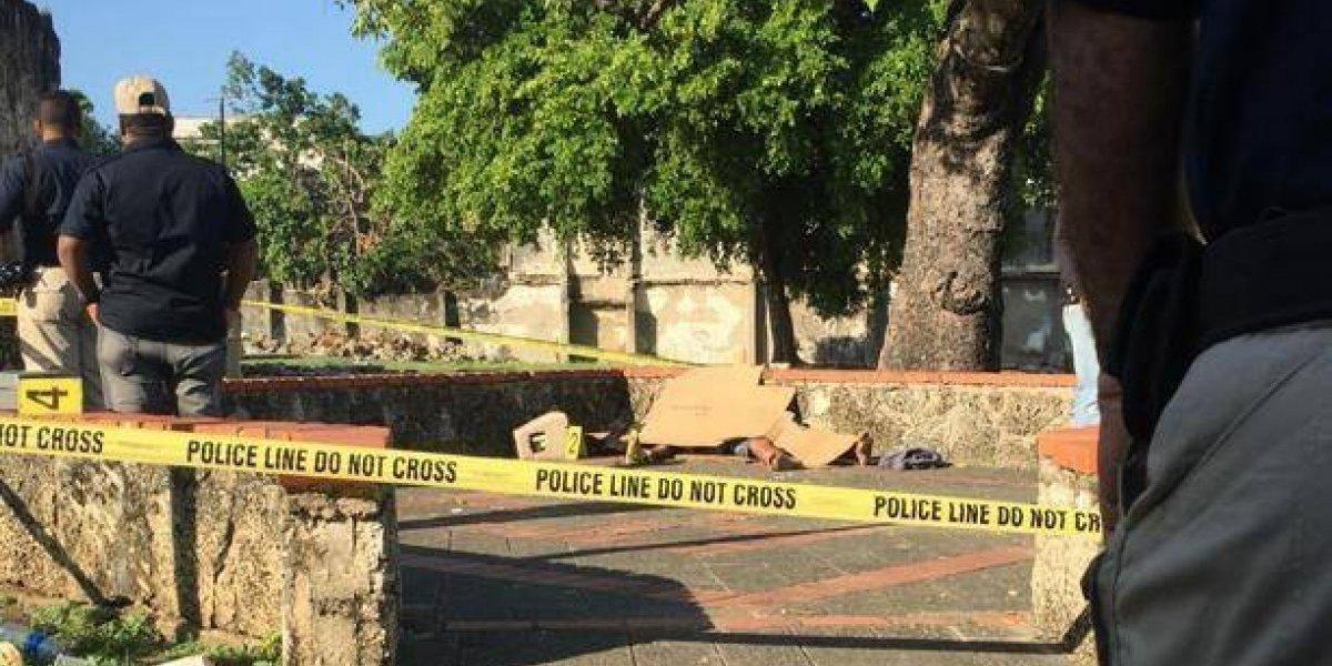 Investigan muerte de hombre hallado en Ruinas de la Zona Colonial