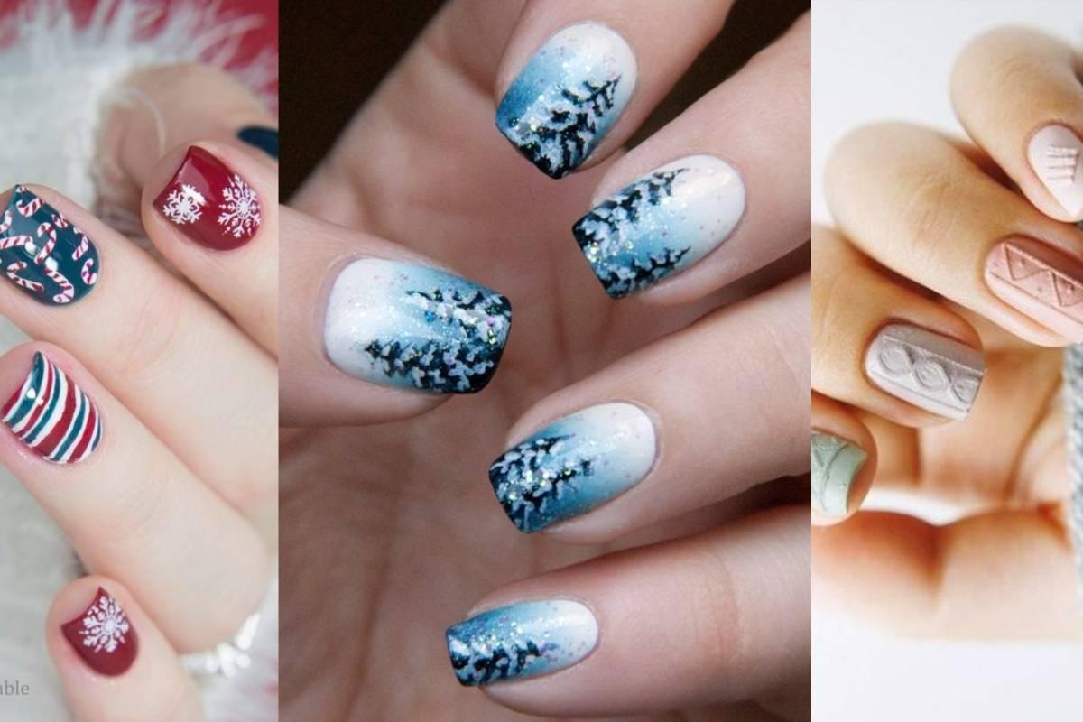 diseños de uñas para navidad que queremos llevar antes que nadie
