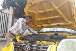 Hyundai de 920 mil kilómetros recorre las calles de Cuenca