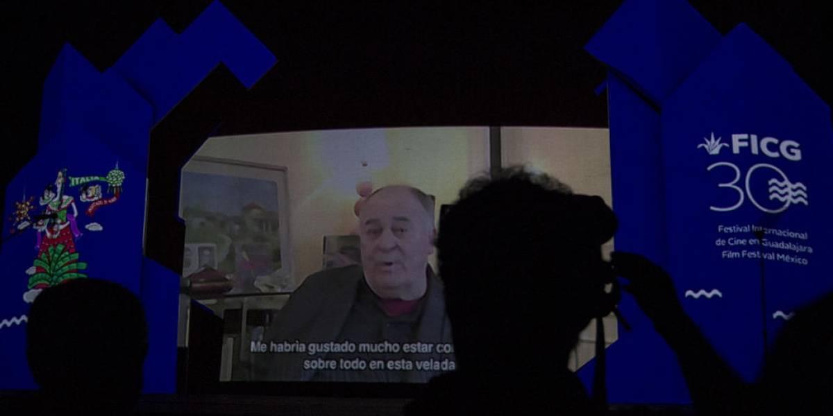 Bernardo Bertolucci dejó huella en Guadalajara