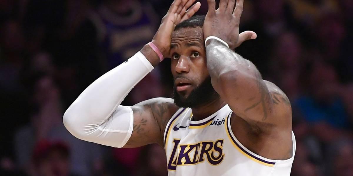 LeBron y sus Lakers no encuentran la manera de derrotar a los Magic de Orlando