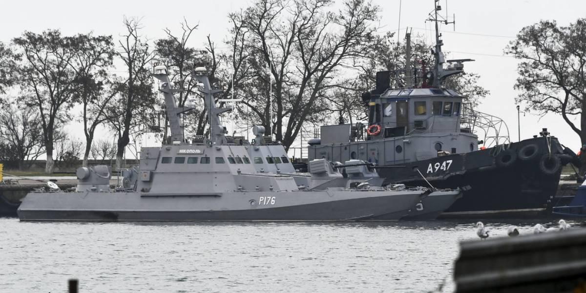 Sigue aumentando la tensión: Ucrania exige entrega de buques y marinos capturados por Rusia