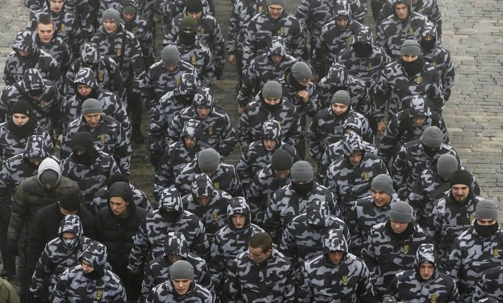 Paramilitares Ucrania