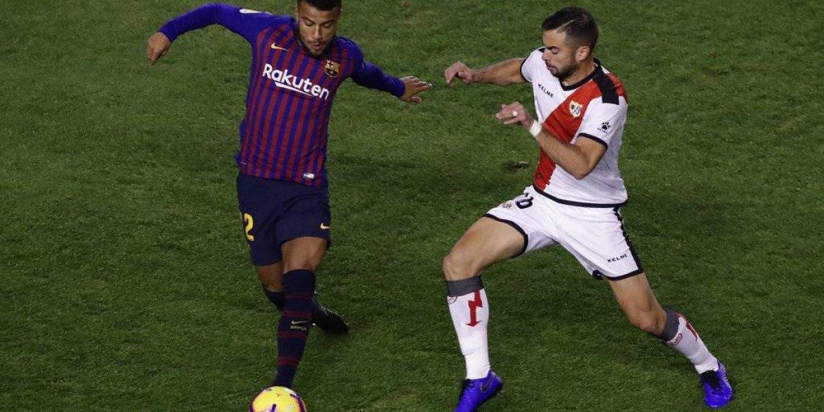 Rafinha perderá resto de temporada de Barsa