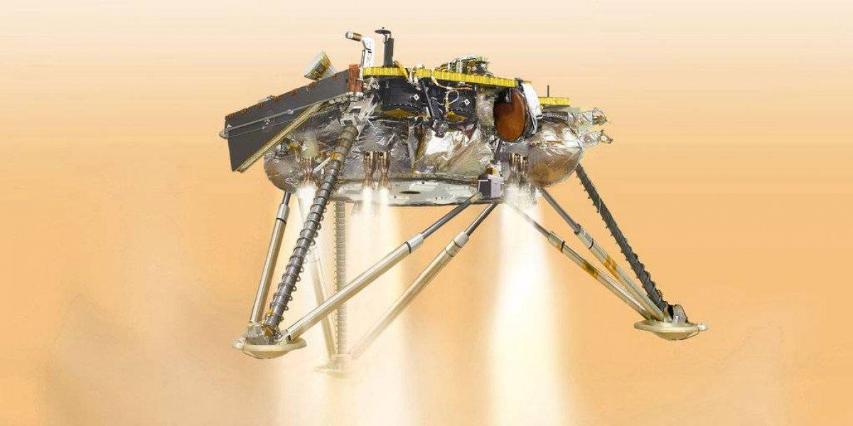 ¡Lo logró! La sonda InSight aterriza en Marte