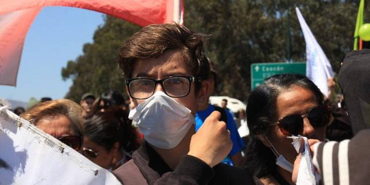 Estudiantes de Quintero y Puchuncaví no pudieron rendir la PSU en su zona por peligro de intoxicación