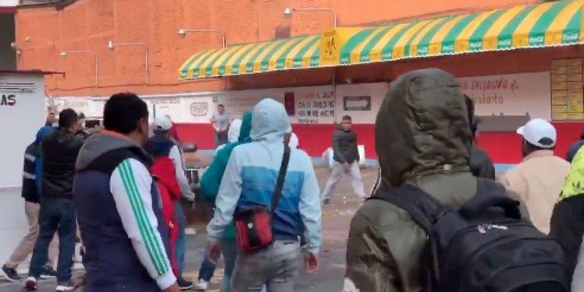 """Desalojo provoca enfrentamiento en taquería """"El Borrego Viudo"""""""