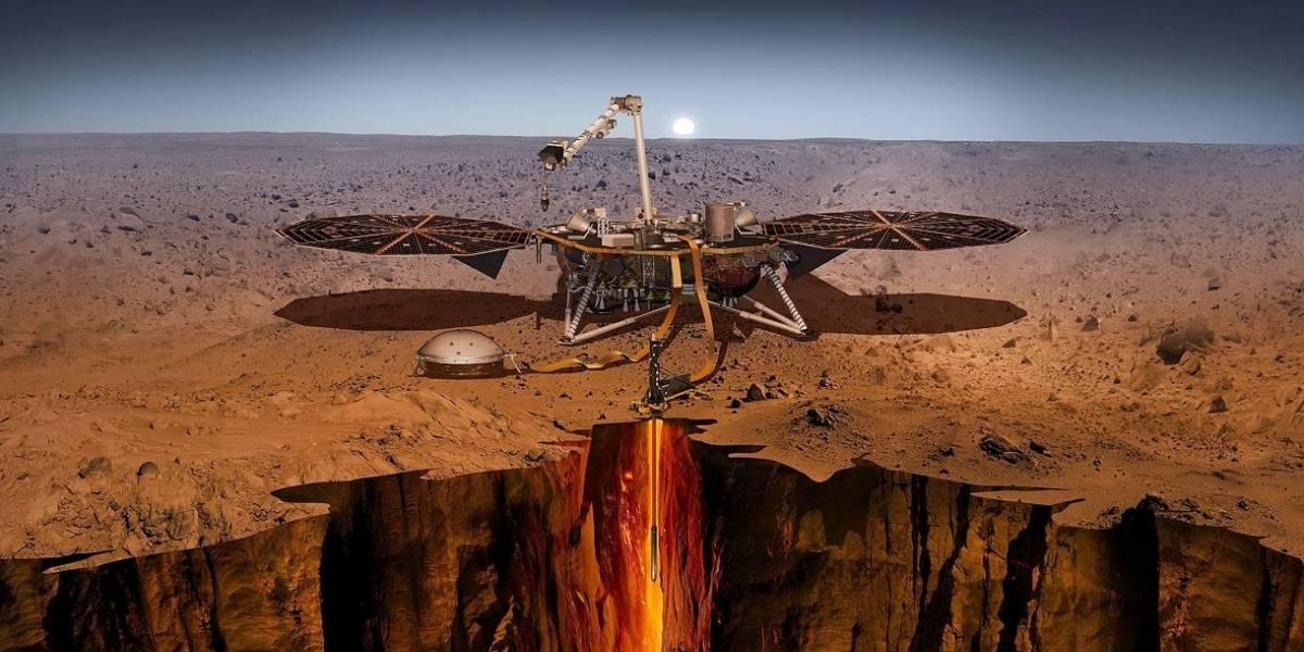 Sonda InSight en Marte: Revisa en vivo la llegada de la nave al Planeta Rojo