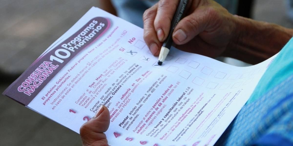 Más de 925 mil mexicanos participaron en segunda consulta de AMLO