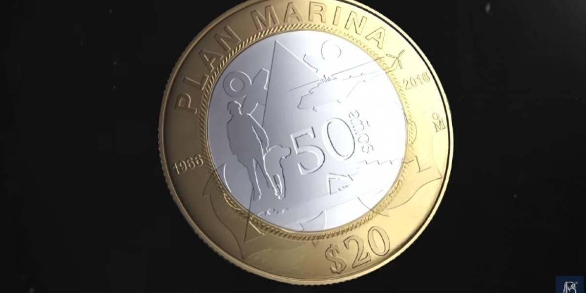Conoce las nuevas monedas de 20 pesos con imágenes de binomios caninos