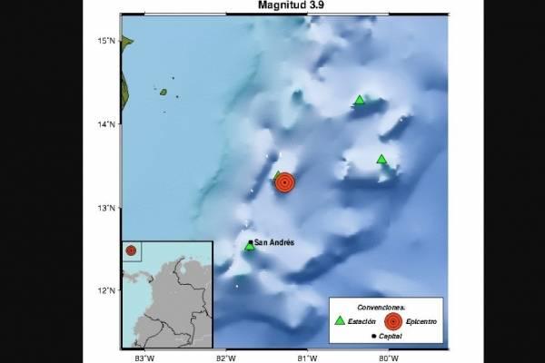 Temblor en Colombia hoy 26 de noviembre