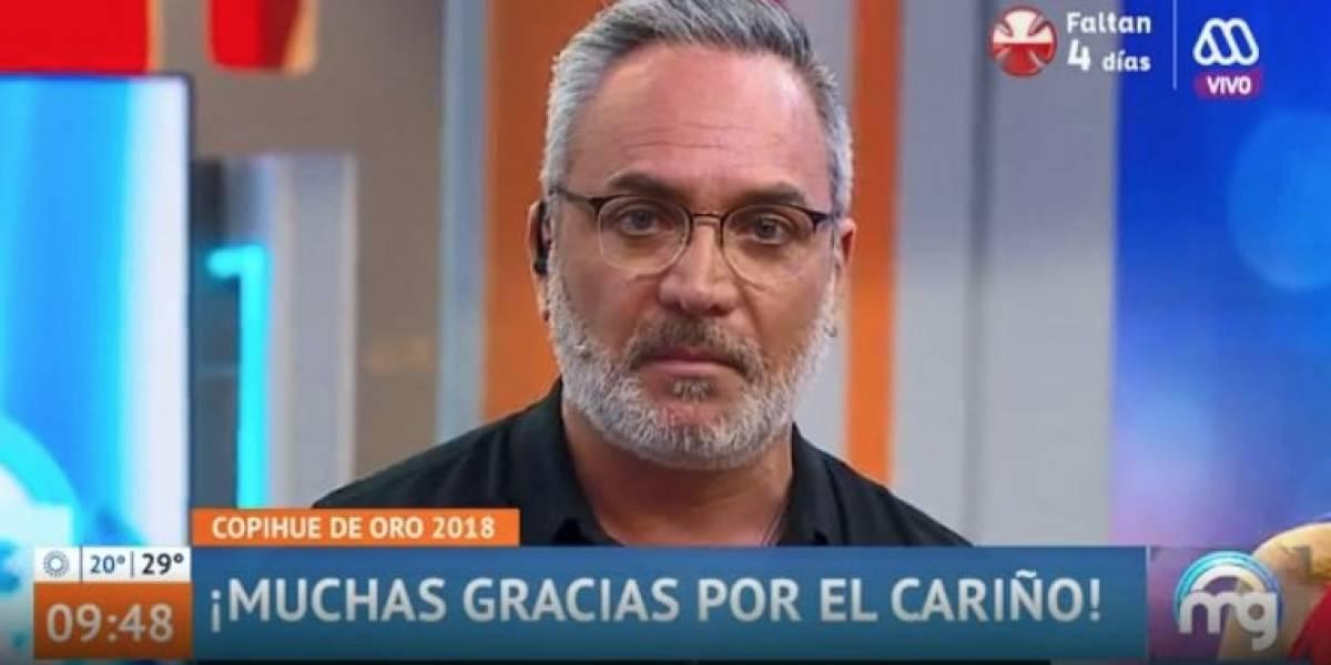 """Terremoto en """"Mucho gusto"""": Luis Jara y José Miguel Viñuela salen de pantalla"""