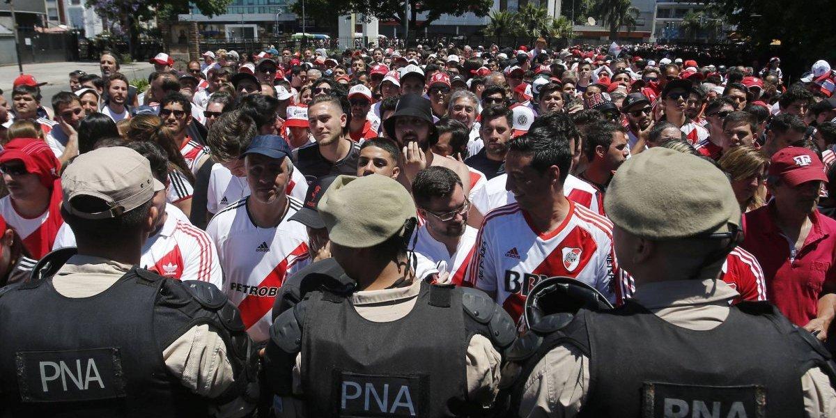 Revelan audio del líder de la barra brava de River Plate