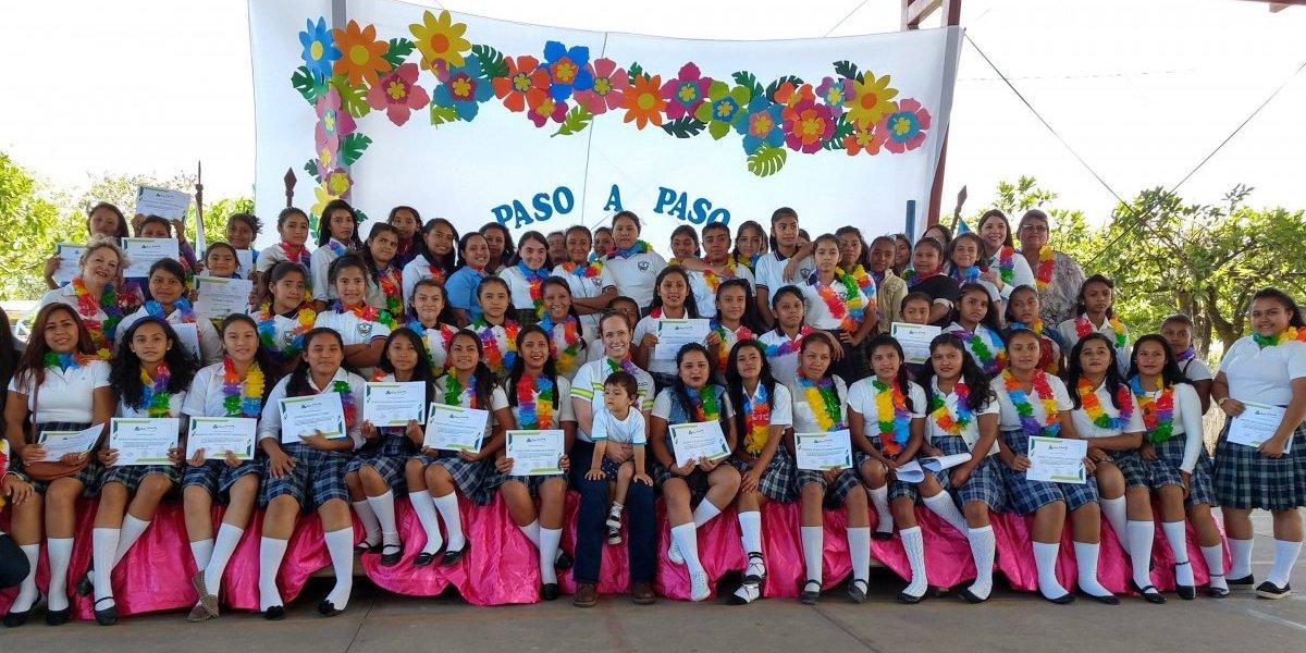 Programa contribuye a que niñas y adolescentes fortalezcan su liderazgo y autoestima