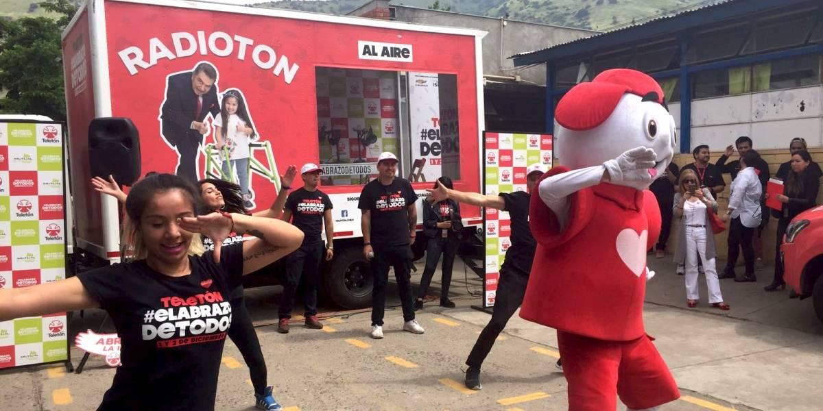 Chevrolet colabora a impulsar la campaña de la Teletón