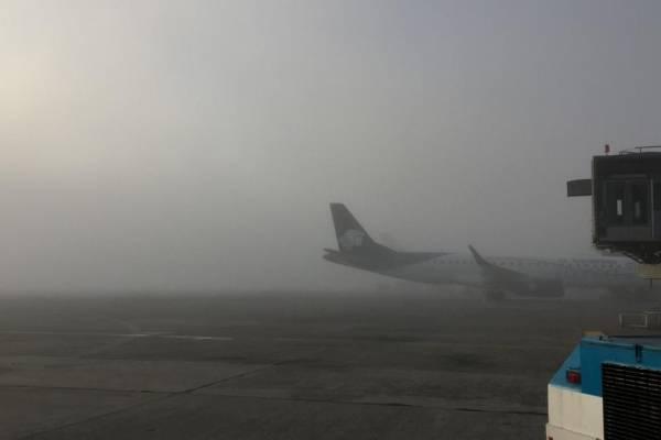 pista del aeropuerto La Aurora cerrada por neblina