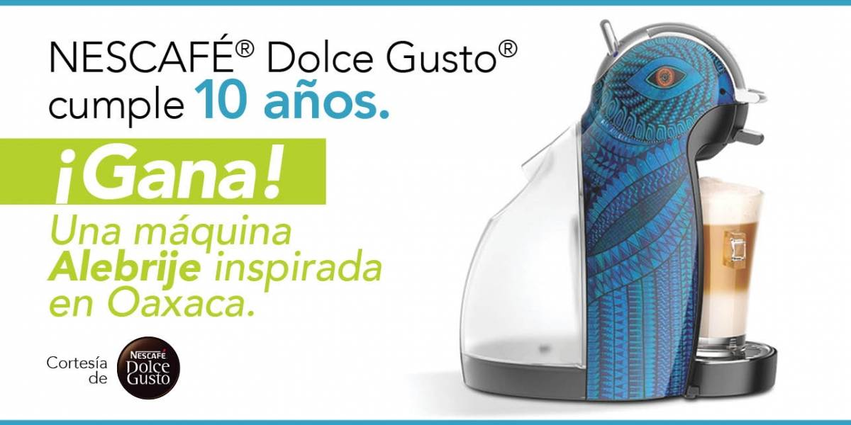 ¡Gana! Una máquina Alebrije inspirada en Oaxaca.