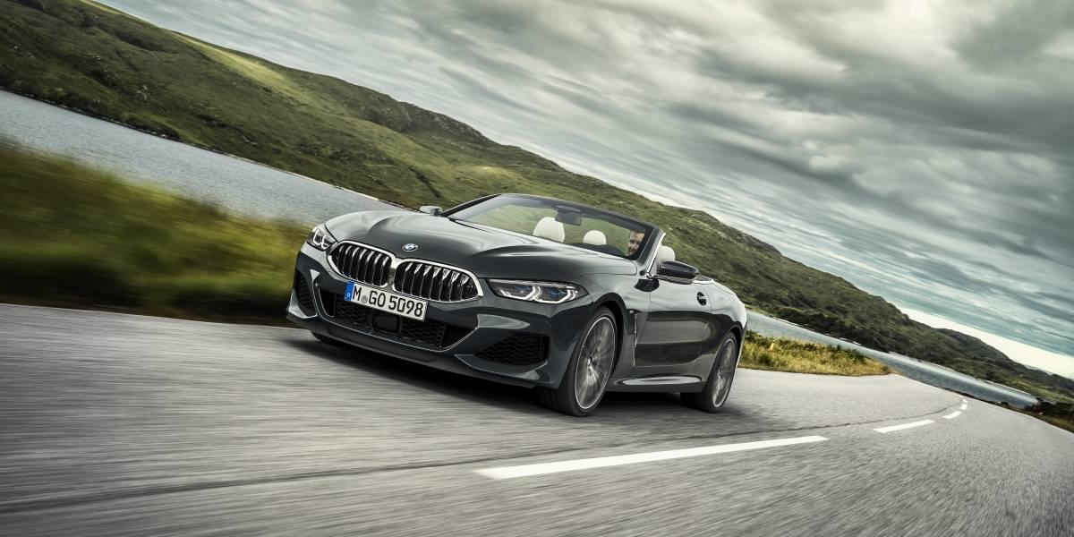 Serie 8 Cabrio, lo último de BMW que asoma en el horizonte