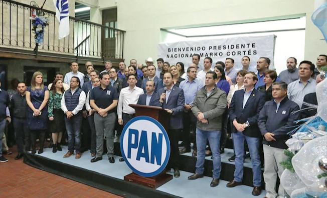 Exige PAN a AMLO sacar las manos de la elección de Monterrey