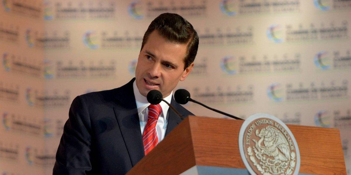 Peña Nieto pide que su gestión sea evaluada con datos objetivos