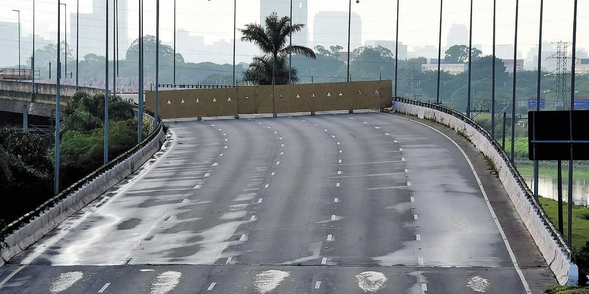 CET libera novo acesso à pista expressa da marginal Pinheiros