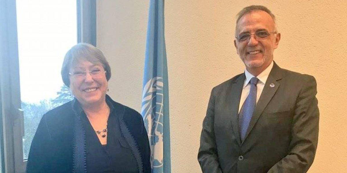 Jefe de CICIG se reúne con Alta Comisionada de Naciones Unidas para los DDHH