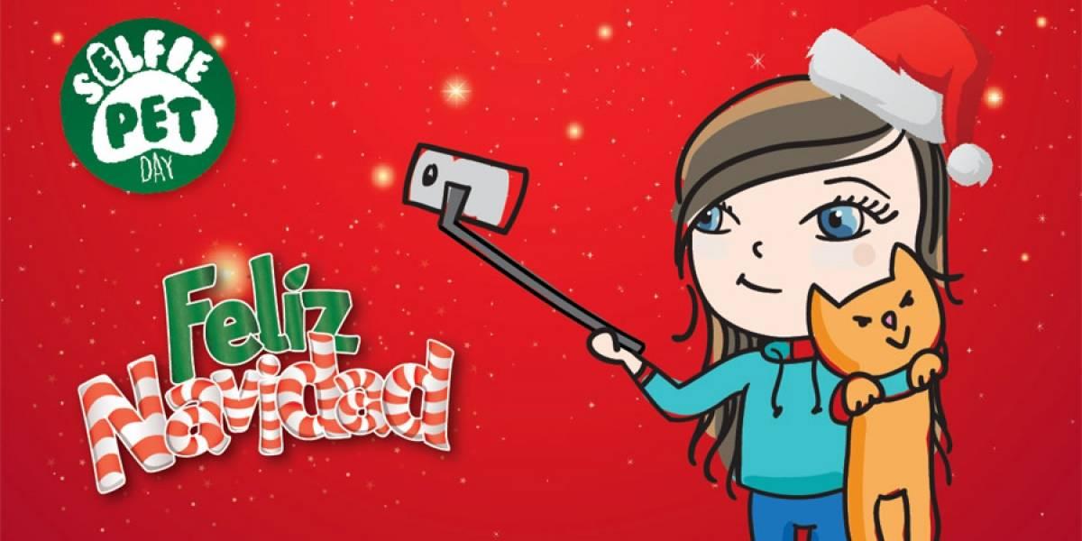 #SelfiePetDay: Publica una selfie navideña con tu mascota y gana muchos premios