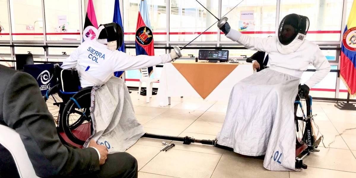 Esgrima paralímpica: un deporte de caballeros que crece en Colombia