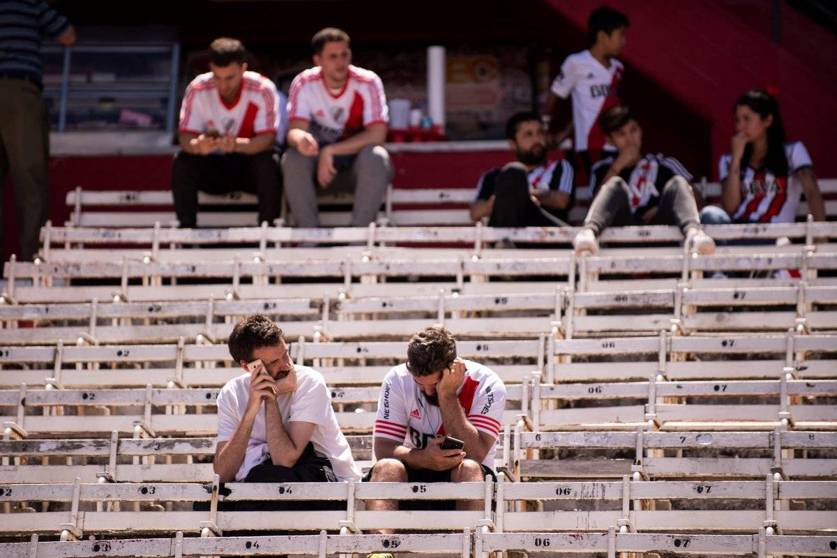 Copa Libertadores: Conmebol abre proceso disciplinario a River Plate por disturbios EFE