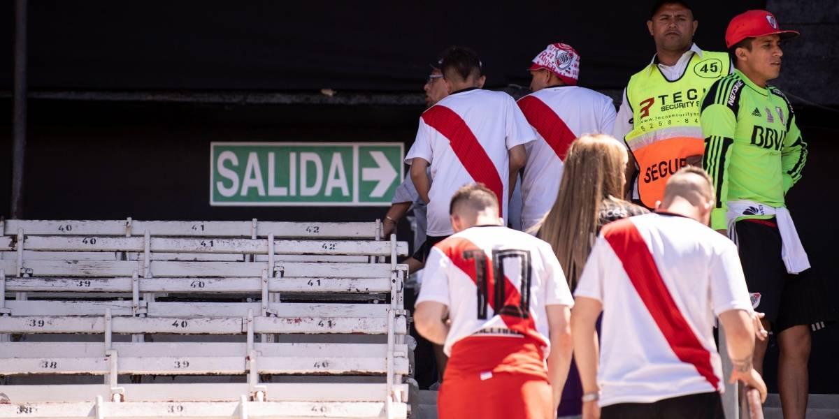 Jefe de la barra de River Plate niega ataque a bus y jugadores de Boca Juniors