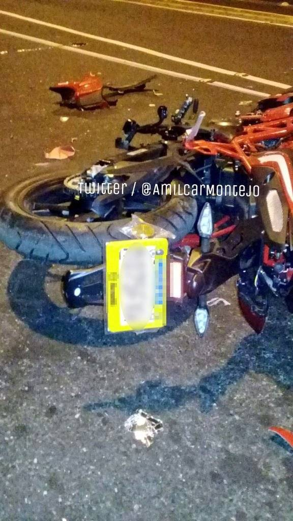 accidente de moto en zona 3
