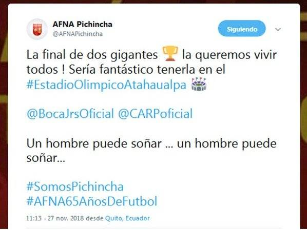 Tuit de AFNA
