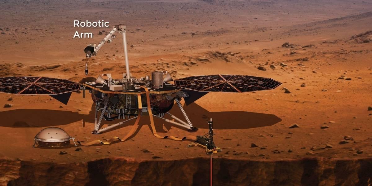¿Cuál es la diferencia de InSight con otras misiones de la NASA en Marte?
