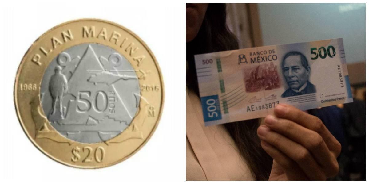 Nueva moneda de 20 pesos, ¿más confusa que el billete de 500?