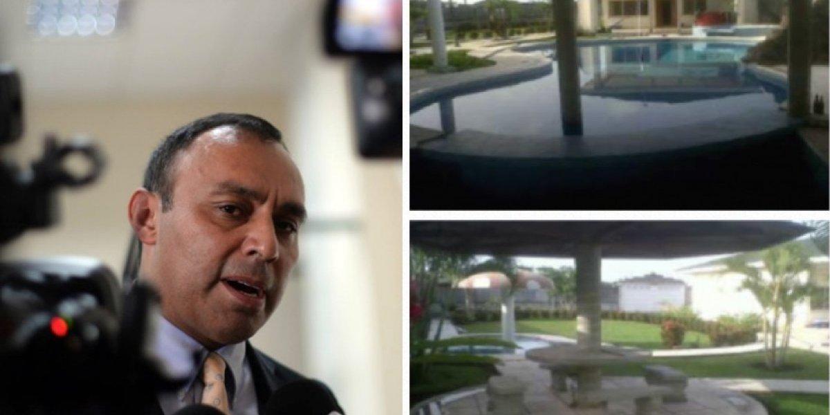 Chalet vacacional de Q2 millones vinculado a Byron Lima pasa a favor del Estado