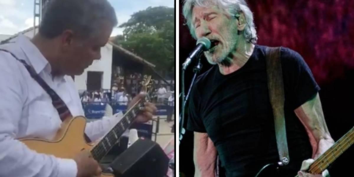 La otra versión sobre guitarra de Roger Waters para Duque