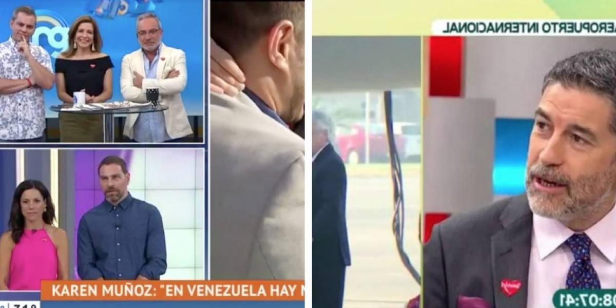 """Critican a matinales por musicalizar regreso de chilenos desde Venezuela con """"Vuelvo"""" de Illapu"""