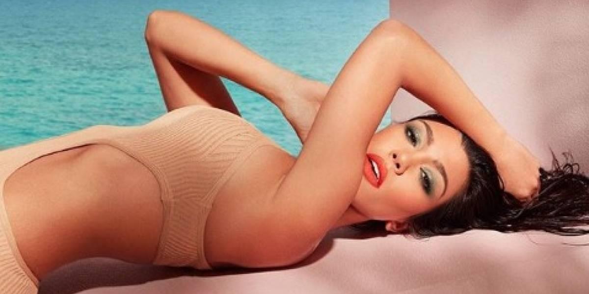 La mayor de las hermanas Kardashians enciende las redes con una foto desnuda