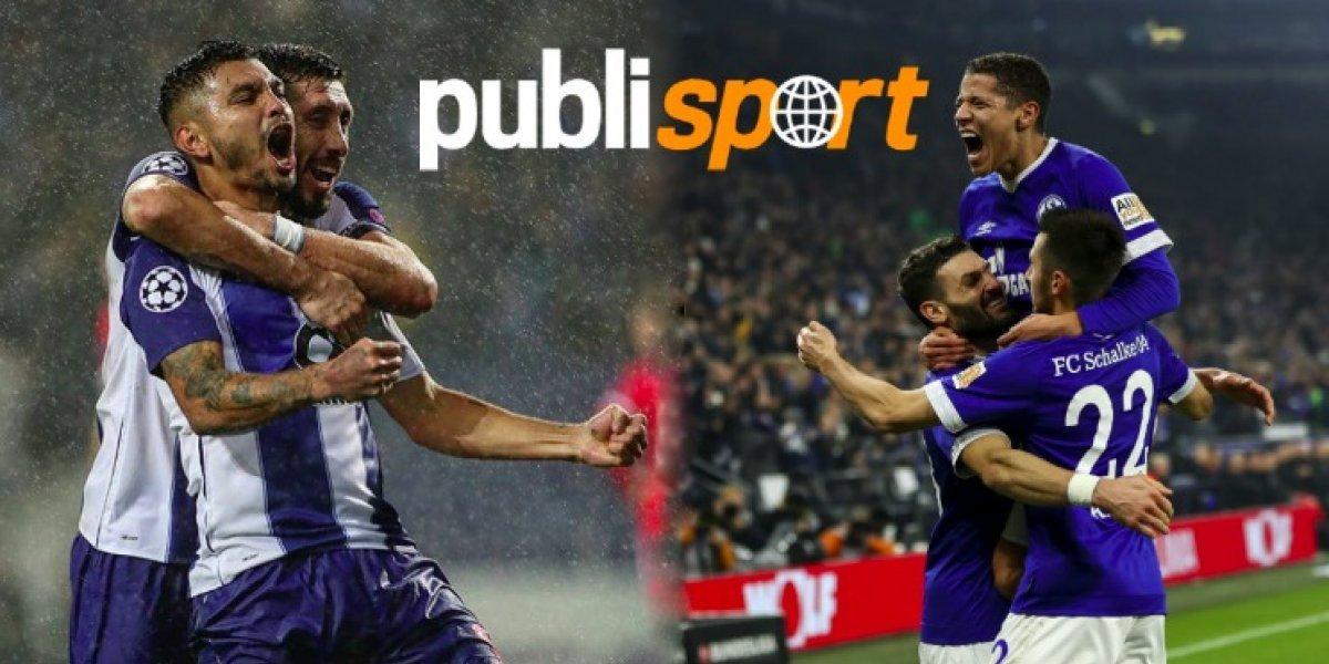 Porto vs. Schalke 04 ¿Dónde y a qué hora ver el partido?