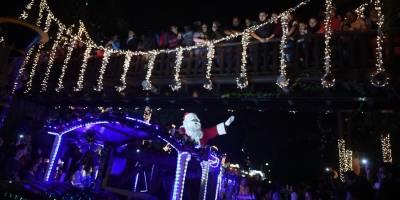 Desfile navideño en IRTRA Mundo Petapa