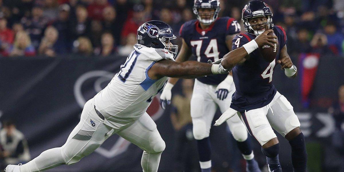 Texans suma su octavo triunfo consecutivo al vencer a Titans