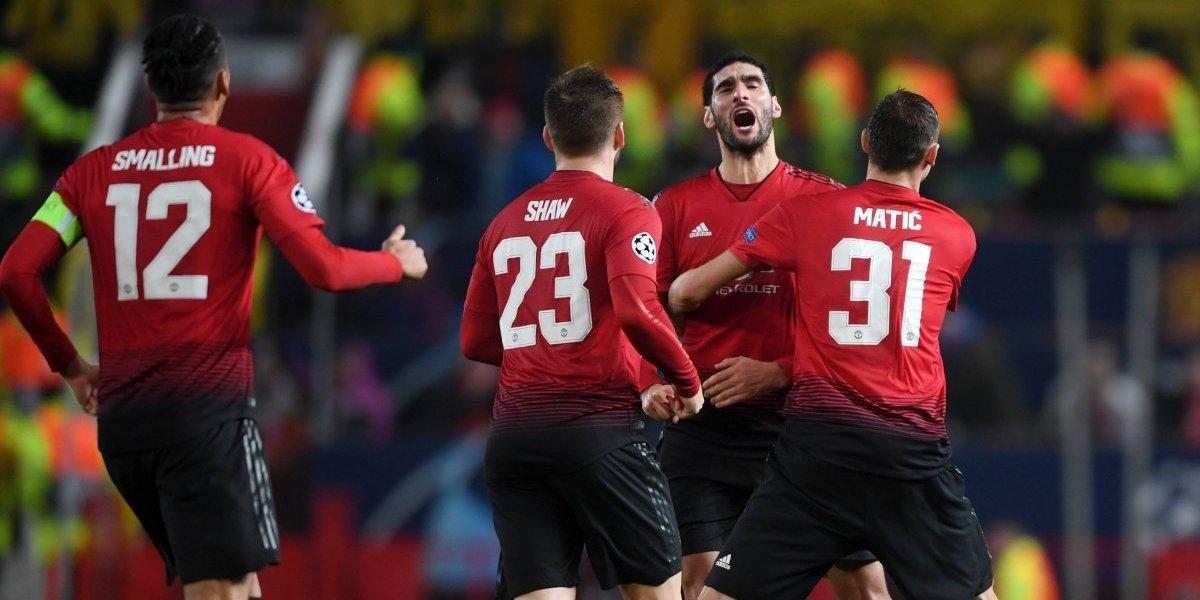 El United pasó tremendo susto sin Alexis ante el modesto Young Boys para asegurar su paso a octavos de Champions
