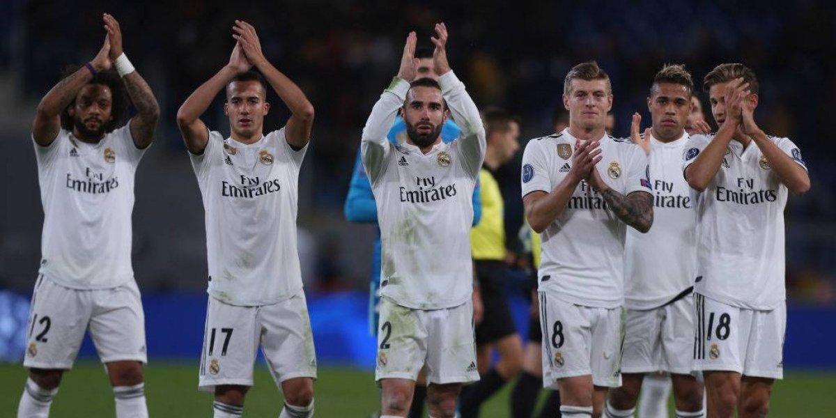 Real Madrid aprovechó las licencias de la Roma y abrochó su paso a octavos en la Champions League