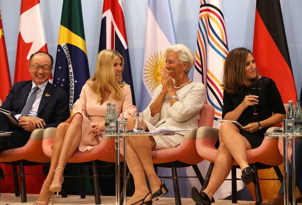 Ivanka Trump en el G20