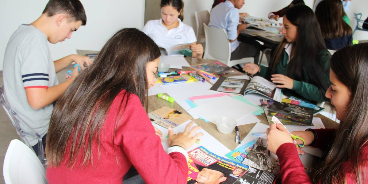 Colegios de Quito se unen contra la violencia de género