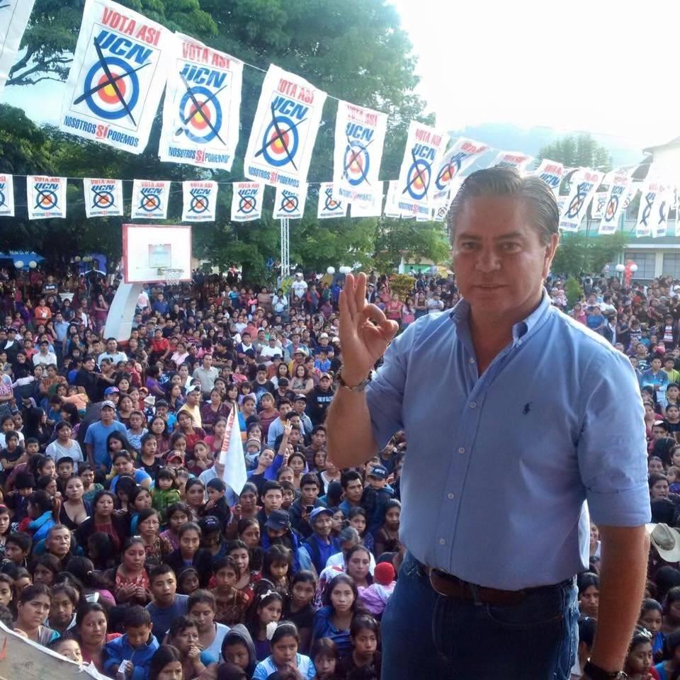 Mario Estrada ha sido el candidato presidencial de la UCN en las últimas elecciones. Foto: UCN